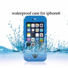 Waterproof bag for iphone 6 6s under Water proof Skin waterproof case for iphone 6s 6 water resistant redpepper case