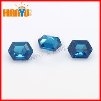 Gem buyers in china hexagon cubia zirconia stone