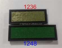 chargeable LED name badge high quality reasonable price