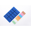 Factory wholesale BPA free rectangular cake mold lego brick shaped silicone chocolate mold pudding mold for fun