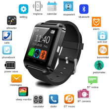 popular promotional Android 4.0 u8 smart watch with sleep monitor, steps, carolie burning, distances monitor,vibration