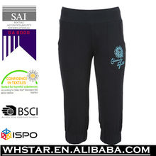 Women jogging cropped trousers