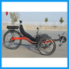 Long Distance Self-Touring Comfortable Seat Battery Electric Recumbent Bikes for Sale