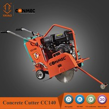 "Conmec nwe high quality 14"" concrete road cutter with Robin EX27 engine and CE certificate"