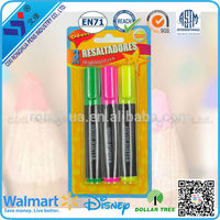 Hot sale top quality best price Chewing gun multi colored Highlighter promotion pen