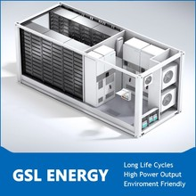 High quality ess 500kwh large scale Li-ion battery storage system