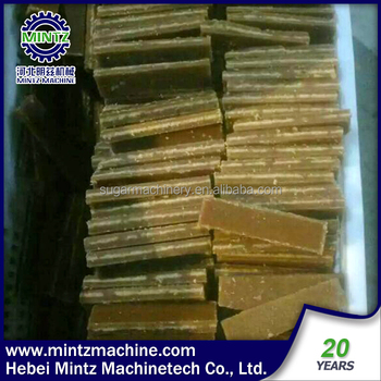 Wholesale Jaggery powder making machine brown sugar cube product line with low price