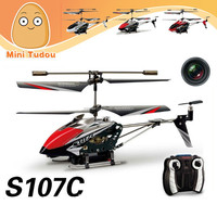S107C Shantou toys S107C 4 CH RC Alloy Helicopter With Camera