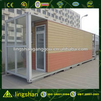 Nice Design Low Cost flat pack Container house in Spain--ISO9001:2008