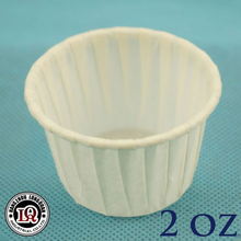 Wholesale Disposable 2oz Souffle Paper Baking Cup For Cake