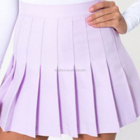 Women fashion cute elegant pleated tennis skirt