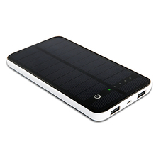 High Quality Leather Case Solar Cellphone Charger Offering LOGO Printing for iPad, iPhone and Samsung Phones