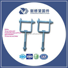 HDG D Iron Bracket of ED-2B Shackle Insulator/ED-2B Insulator D Bracket/D Steel Insulator Bracket/Electric Line fitting