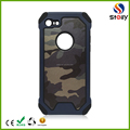High quality TPU + PC case for iphone 7 & camouflage phone case for iphone7