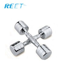 Electroplating Chrome steel dumbbell