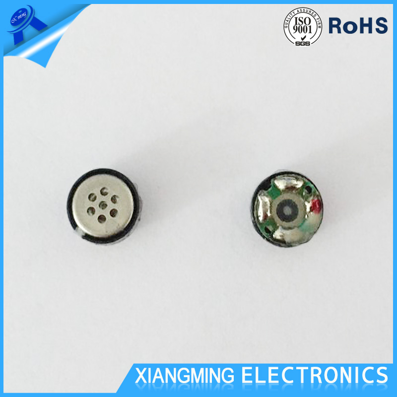Factory Offer 7MM Mini Earphone Speaker with 16 Ohm 3mW