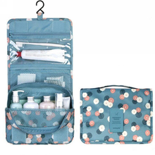 Hanging Fashion Foldable Travel Cosmetic Bag Toiletry Organizer with multi pocket