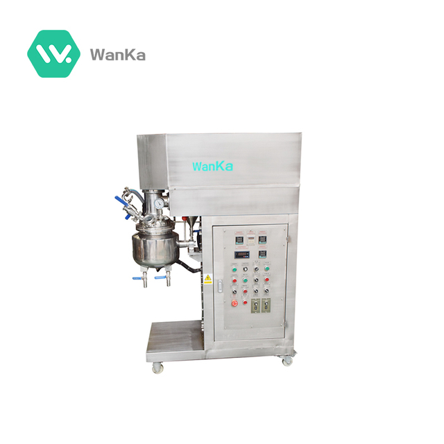 Dependable quality cosmetics chemical emulsifying mixer machine for sale