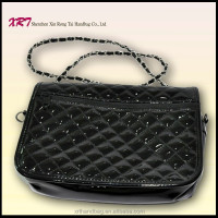 Black Fashion PU Handbag Ladies Elegance Handbags