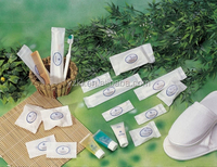 Disposable hotel items supply / Hotel amenity for luxury bathroom set and travel kit and airline kit