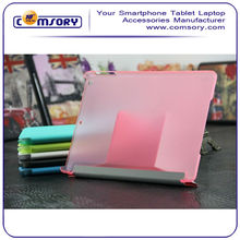 Premium Folio Leather cover with semitransparent Case for APPLE iPad Air with Stand function