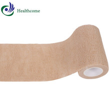 High compression sterile cohesive colored bandage medical gauze