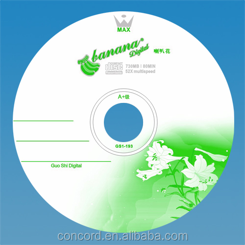 Low price 80 minute blank cd r