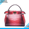 2016 ladies red new arrival women fashion tote bag handbags for lady