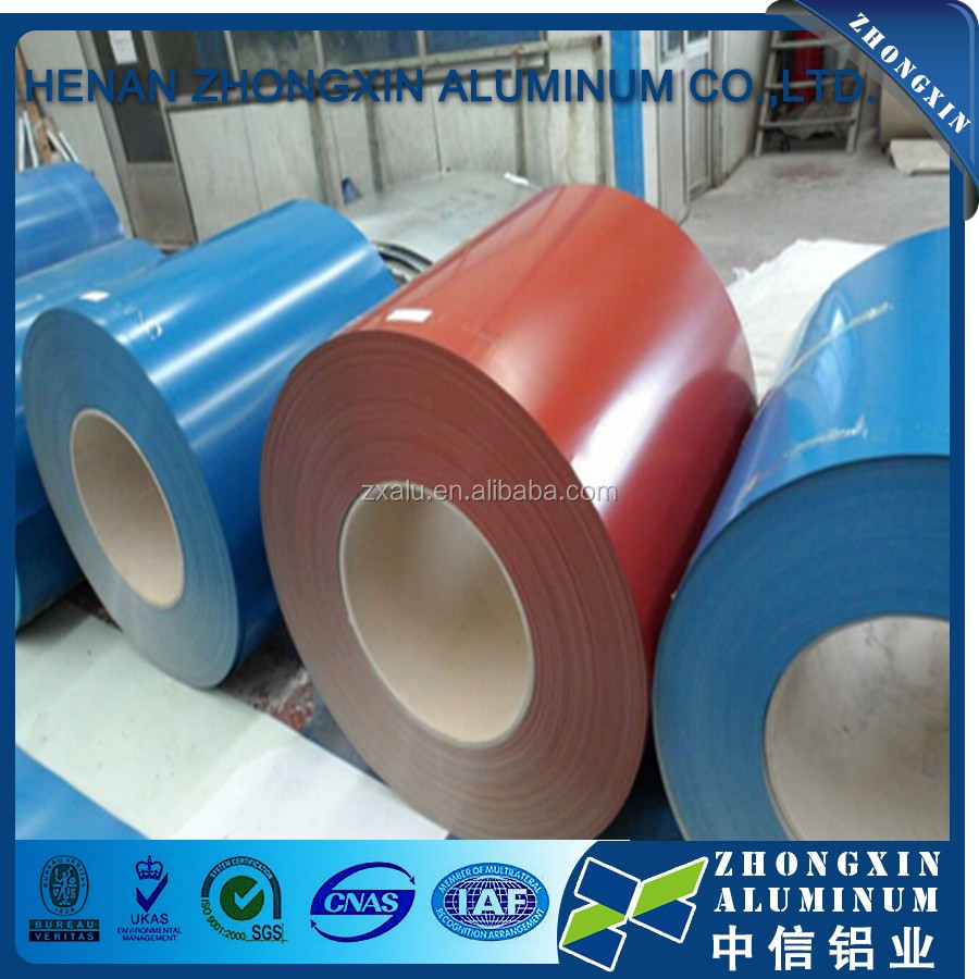 Henan factory 0.1mm 0.2mm 0.3mm color aluminum for roofing