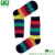 Fashion Cotton Crew Colorful Mens Dress Happy Bamboo Socks
