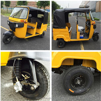 China Factory 3 Wheeler Passenger Tricycle Price Stock Rickshaw Tuk Tuk for Sale