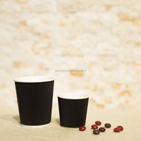 cheap price printing double wall white coffee paper cup for hot drinking