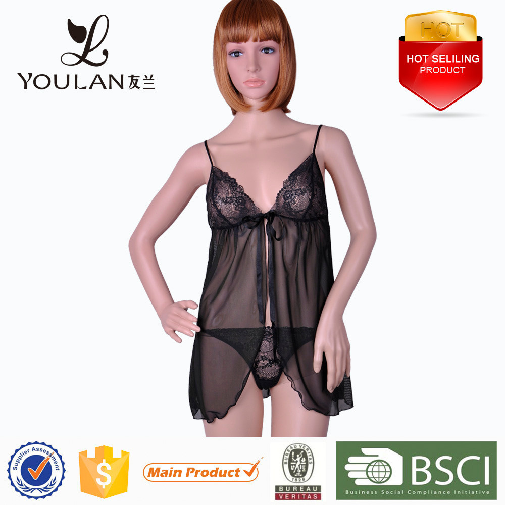 Hot Sexy Transparent Nighty Sexy Lingerie Xxx Sex China Sexy Lingerie