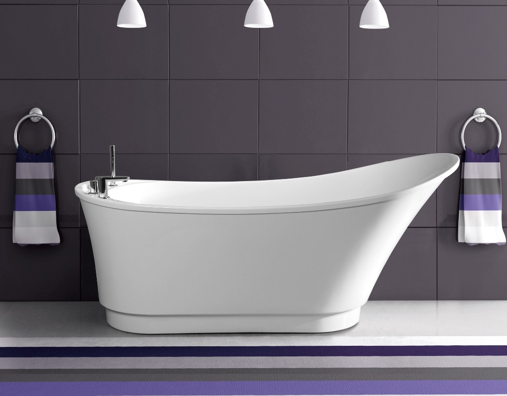 Beautiful and fashionable outlook bathtub for old people and disabled people
