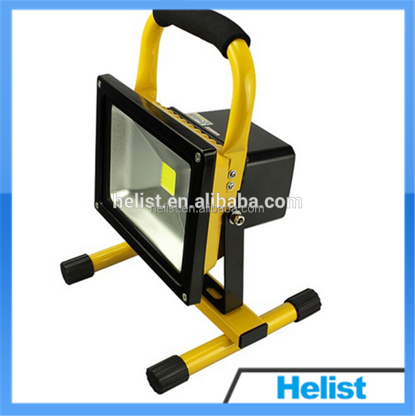 Portable Outdoor Flood Lights 10W 20W LED Work Lamps 12V 24V IP65 Outdoor Portable Floodlight