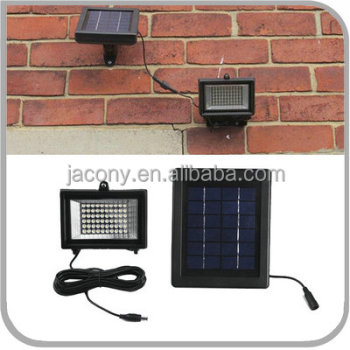 30 60-LED Ultra Bright high quality solar led flood light outdoor Spot lamp with Auto sensor for Driveway Garage patio walkways
