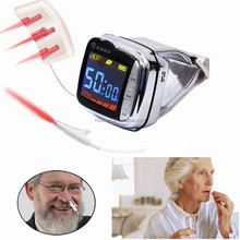 Health care product acupuncture point diode laser therapy device for Rhinitis and high blood pressure treatment