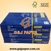 Custom Design Letter Size Copier Paper 75g