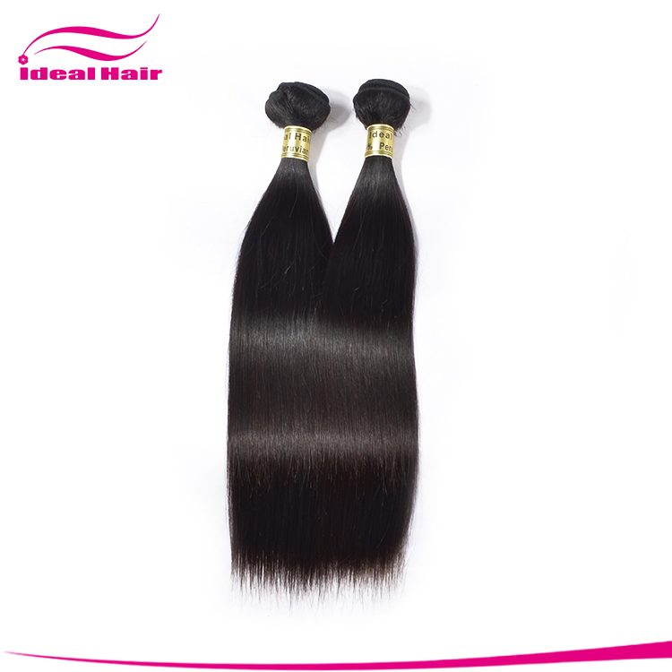 Wholesale 100 unprocessed virgin peruvian human hair,peruvian 7a bundle hair,natural peruvian hair human