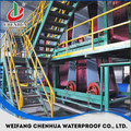 Low cost bitumen waterproof sheet production line manufacturer