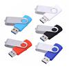 2019 brand new metal swivel USB drive 8gb 16gb 32gb red black green metallic rotating U disk
