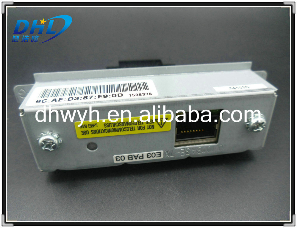 Ethernet Interface Network Board Use for Epson Printers TM-T88IV TM-T88V TM-U220 T81 T82II T88III