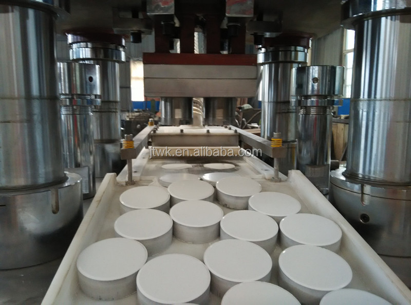 Chlorine tablet/ TCCA disinfectant making machine / Automatic hydraulic tablet press machine