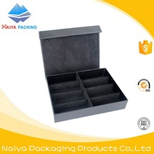 Custom fancy retail cardboard display boxes for sunglasses packaging