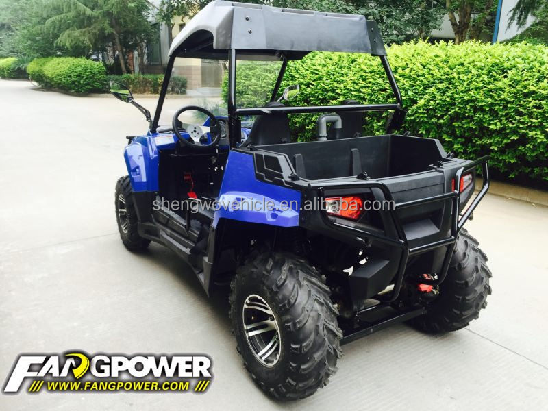 longer style cheap 2 seat youth 200cc utv side by side