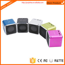Music Angel portable LCD screen mini aluminum vibration film loud speaker