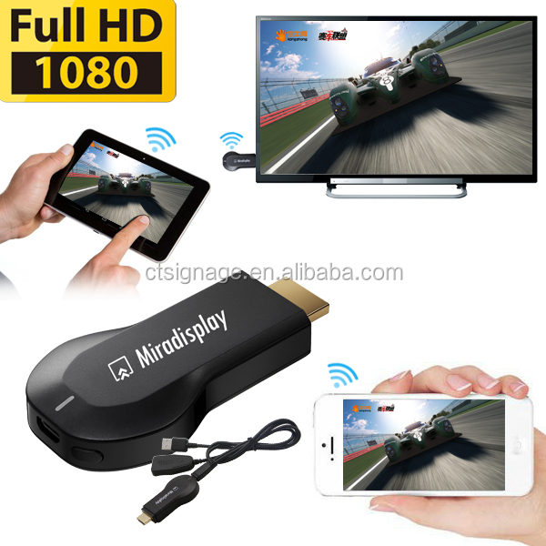 Smart TV stick miracast wireless display dongle,wifi dongle