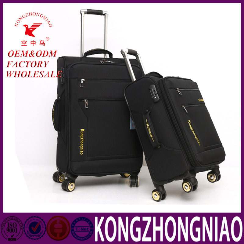 Wholesale nylon wheeled garment bags and cases