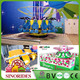 Super fun and excited frog jumping circle tower amusement rides