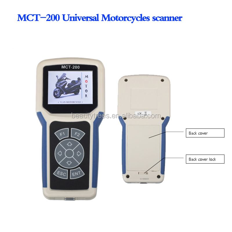 MCT-200 motorcycle Scanner diagnostic tester decoder Troubleshooting Tools for most motorcycle EFI System